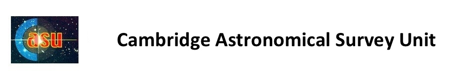 Cambridge Astronomy S